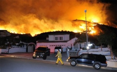 Sayre Fire Sylmar California Fire Maps And Pictures Caffeinated