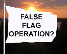 was it a false flag?