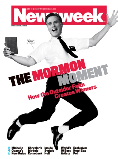 "newsweek cover mitt. Newsweek Cover: ""The Mormon"