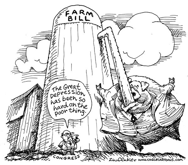 Farming The Government Political Cartoons