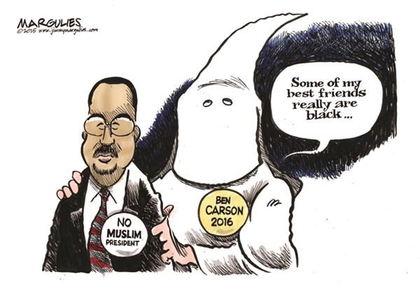 More) Ben Carson Political Cartoons   CAFFEINATED POLITICS