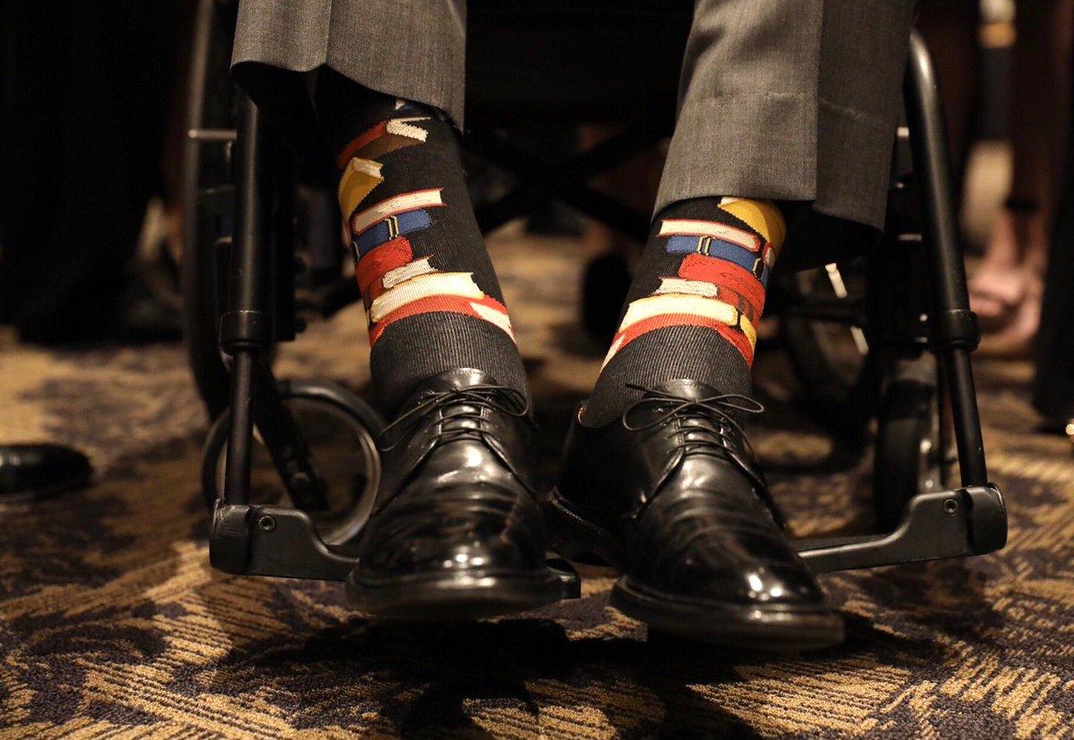 Socks Worn By President Bush 41 At First Lady Barbara Bush Funeral