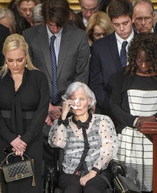 Roberta McCain, Mother Of John McCain, At U.S. Capitol
