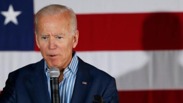 Election 2020 Joe Biden, Iowa City, USA - 01 May 2019
