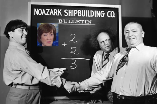 Collins as Stooge
