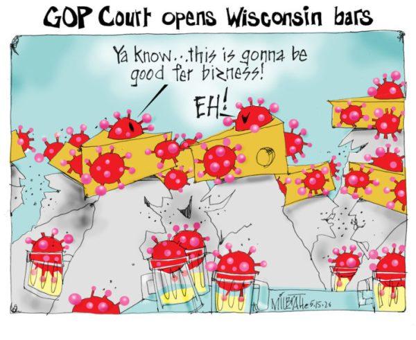 Wisconsin bars OPEN