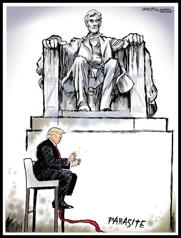 trump-parasite