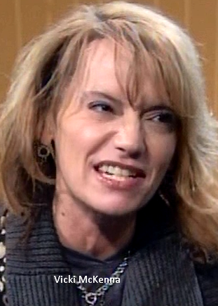 Vicki McKenna snarling